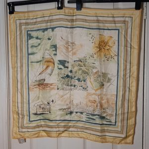 Talbot's silk scarf